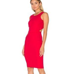 Elizabeth and James Aldridge Red Dress